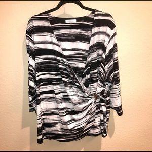 Calvin Klein plus size blouse NWOT
